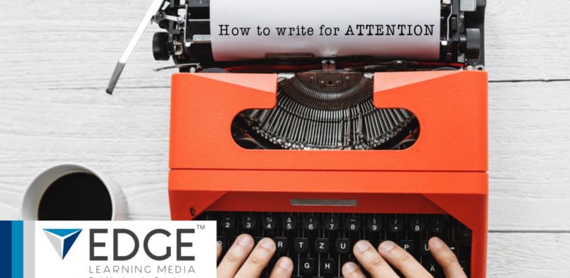 How to write for attention